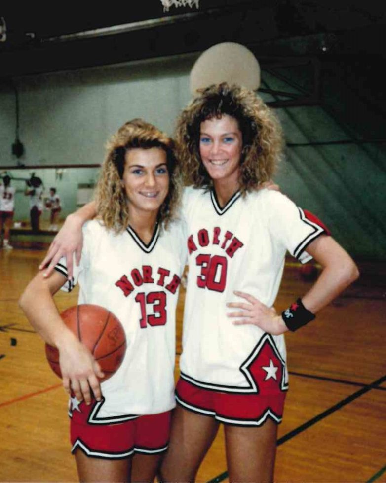 JoEllen and Janel basketball pic